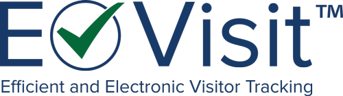E-visit efficient and electronic visitor tracking